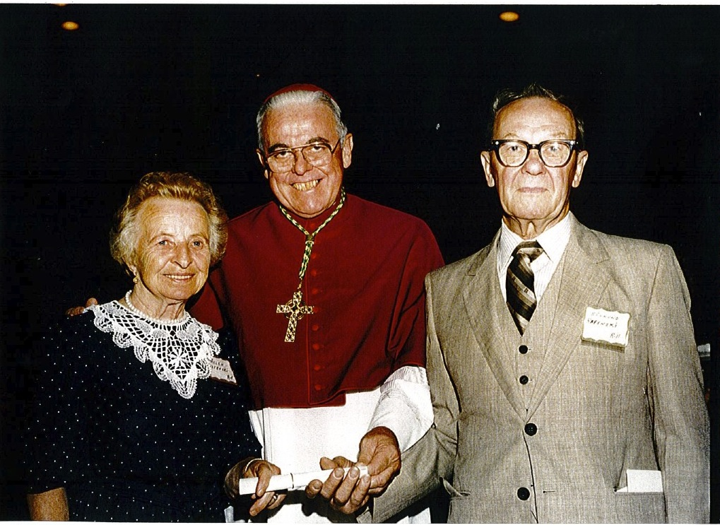My Mother and Father with the Bishop