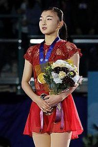 Japanese figure skater Kaori Sakamoto