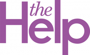 logo for The Help film