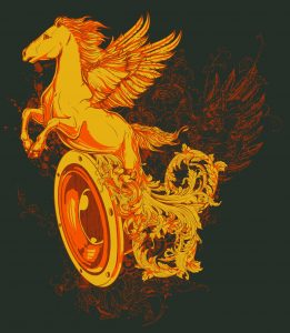 chariot with wings