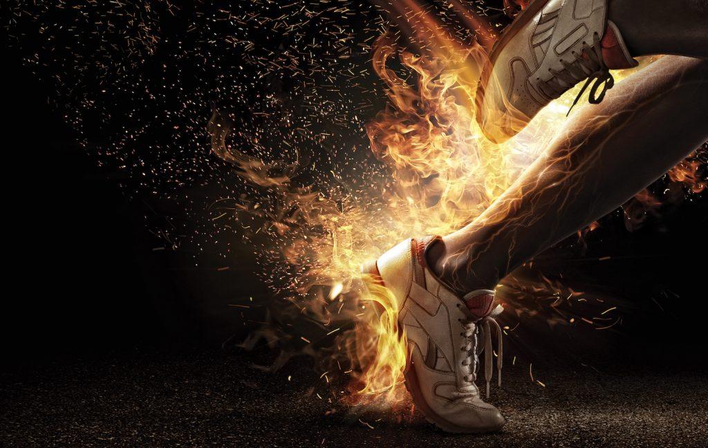A powerful runner