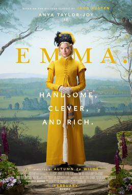Poster for the 2020 Emma movie